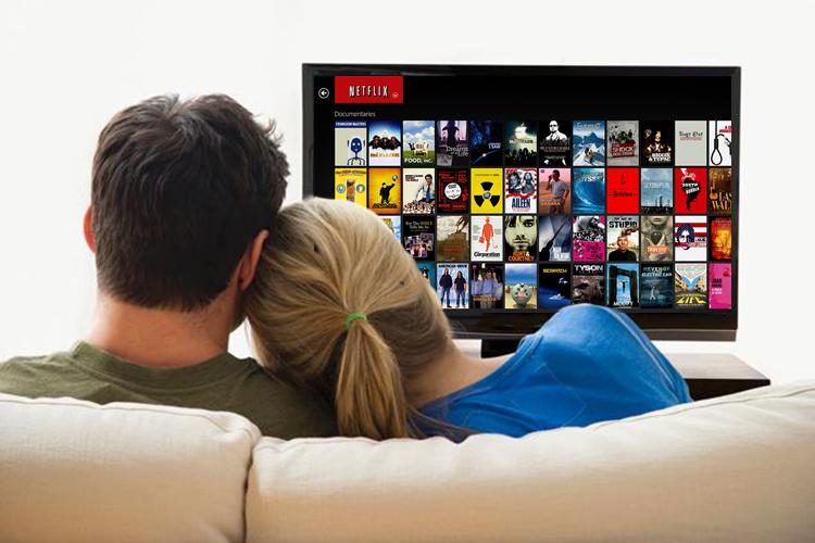 Serie kijken op een smart TV