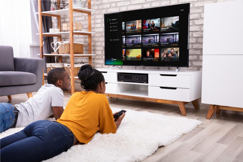 Eigen video's kijken op smart tv