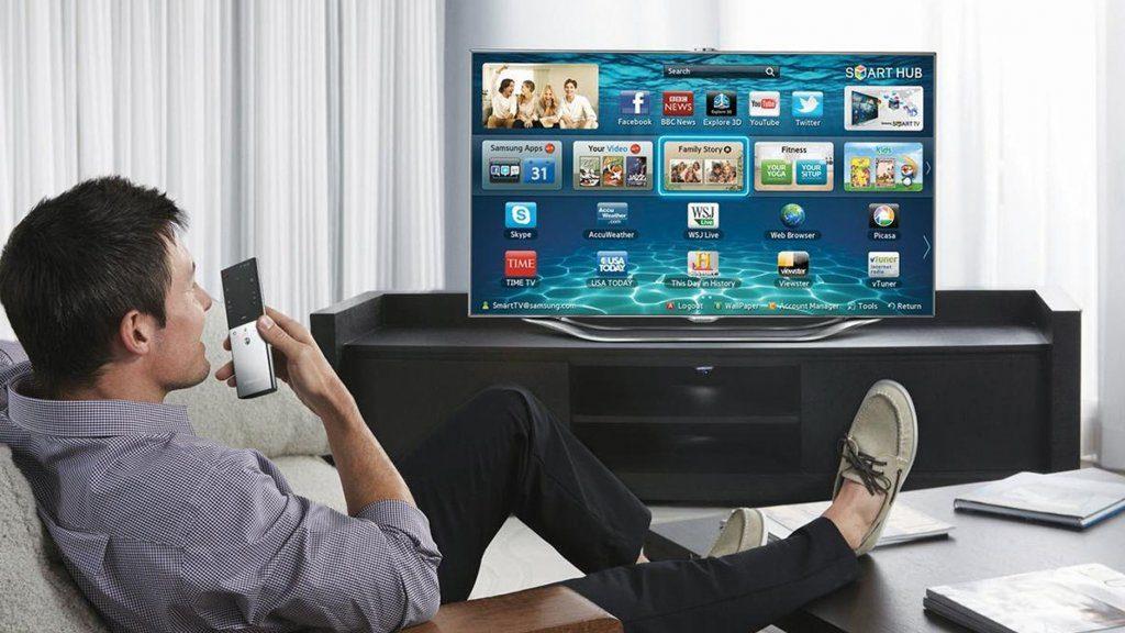Muziek luisteren op smart tv